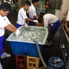 「佐賀市昭栄中学校」生徒による職場体験