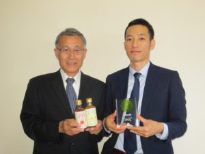 International BEVERAGE Awards at Drink Japan 2018 受賞 社長&唐津スタイル