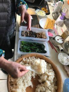 まろやか寿司酢を使った恵方巻