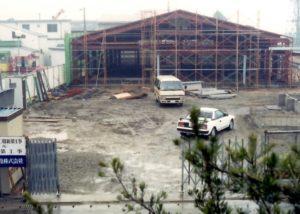 サガ・ビネガー新工場建設中