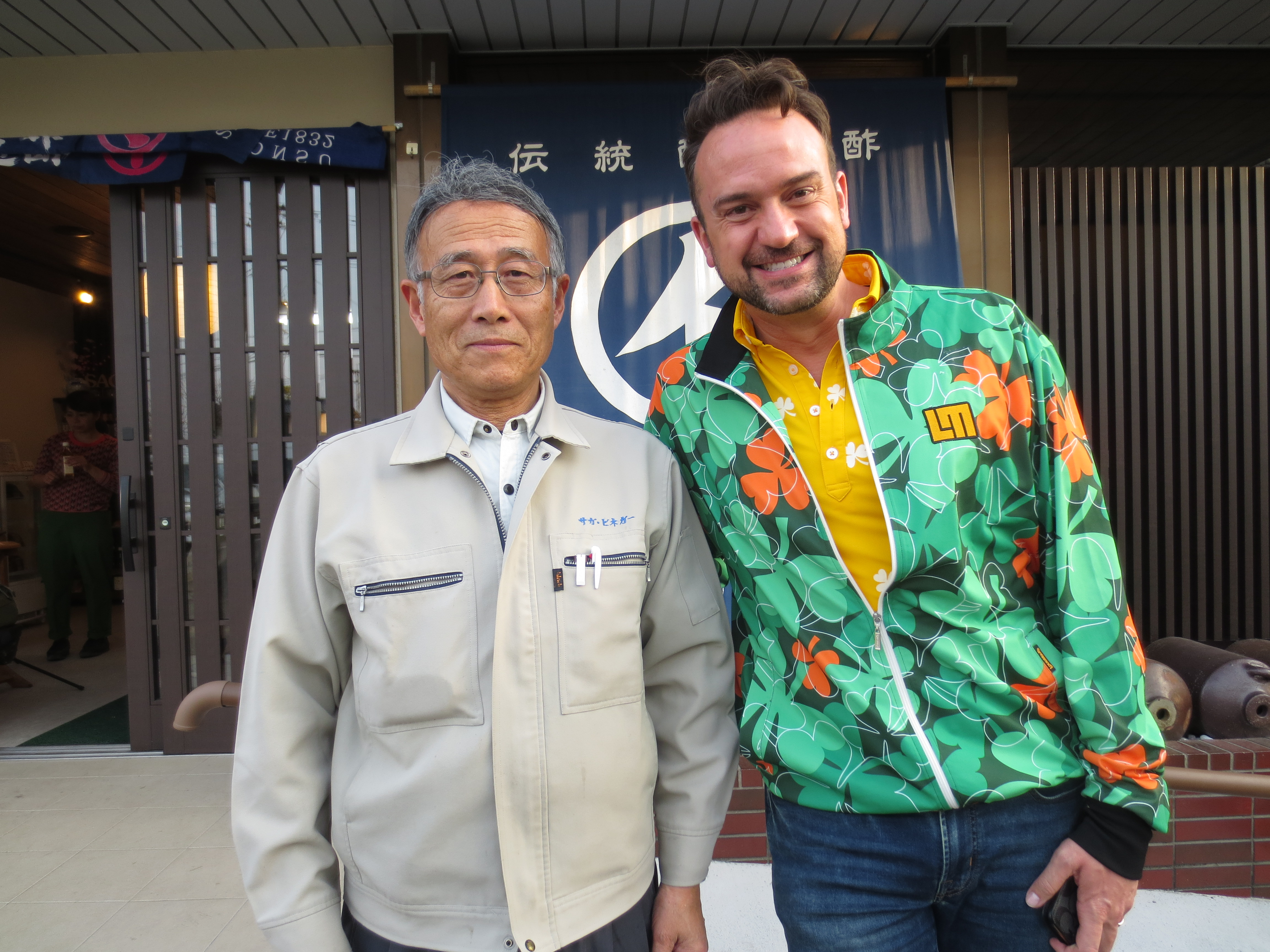 「Trails to oishii Tokyo」テレビリポーターのジェイソンさんです。