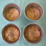 たまねぎ酢のかぼちゃ蒸し菓子
