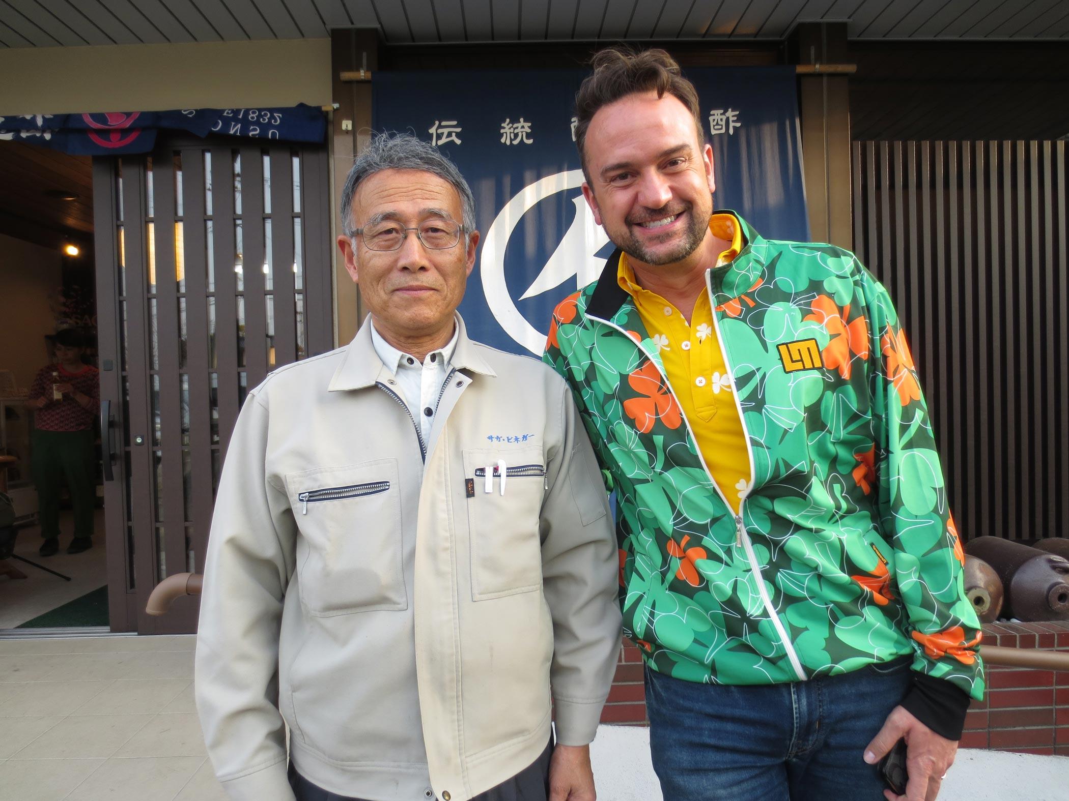 「Trails-to-oishii-Tokyo」テレビリポーターのジェイソンさんです。