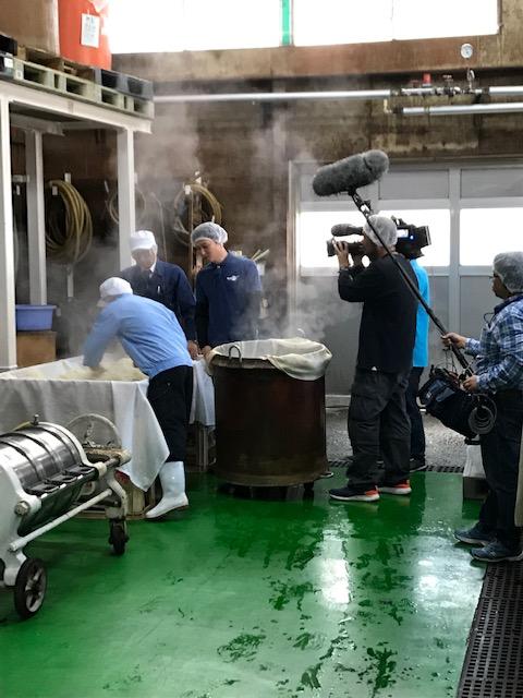 NHK佐賀「さが飯」より純米酢の取材がありました!