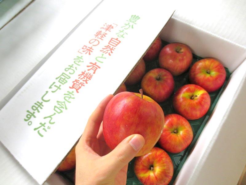 青森県産リンゴ入荷