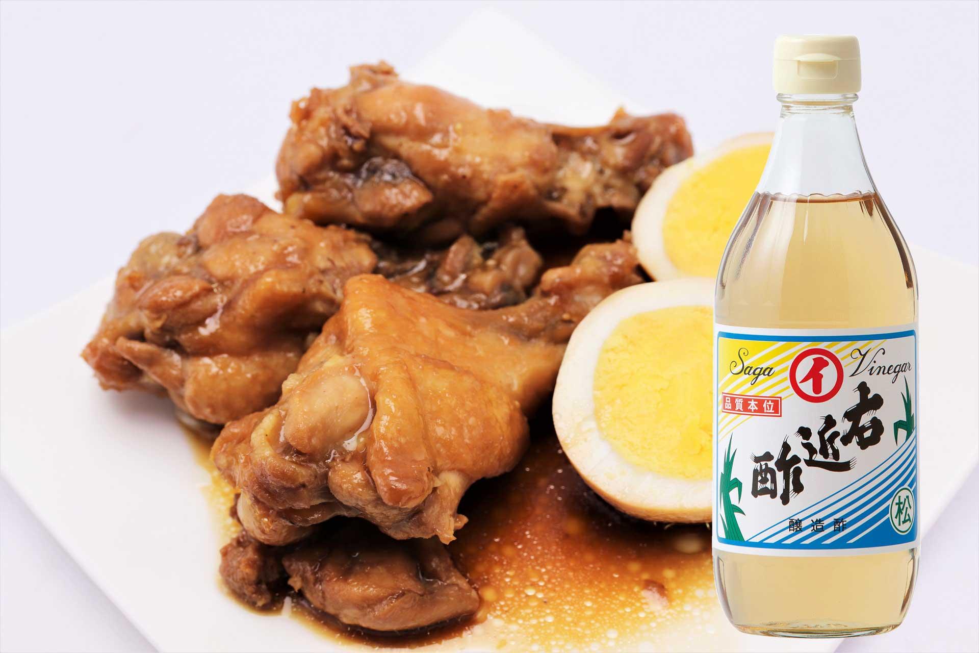 鶏の手羽先煮コラーゲンたっぷり