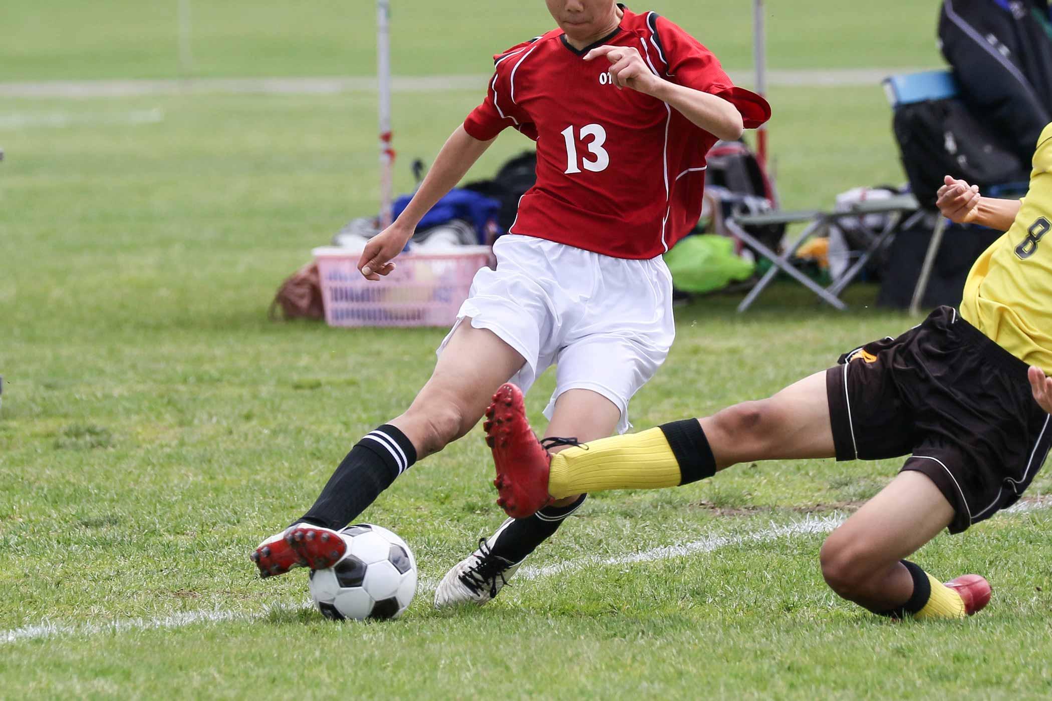 サッカー選手とお酢
